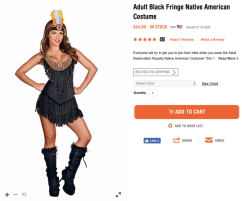 American Indian Woman Costume